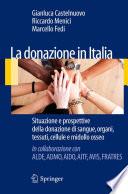 La donazione in Italia