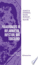 Paraoxonases In Inflammation Infection And Toxicology