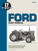 Ford Shop Manual Fo18 Fo21 Fo22 Fo36 Fo39