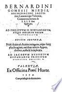 Commentariorum de sale libri quinque