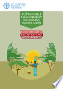 Sustainable management of Miombo woodlands Nutrition And Wood Energy In