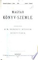 Magyar k  nyvszemle