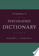 Campbell s Psychiatric Dictionary