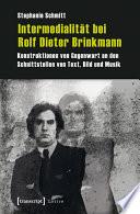 Intermedialität bei Rolf Dieter Brinkmann