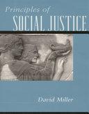 Principles of Social Justice