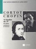 12 Etudes, Op. 25: Piano Solo