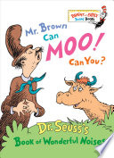Mr. Brown Can Moo! Can You? Book Cover