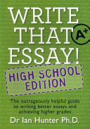 Write That Essay   High School Edition