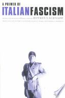 A Primer of Italian Fascism