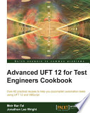 Advanced UFT 12 for Test Engineers Cookbook