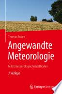 Angewandte Meteorologie