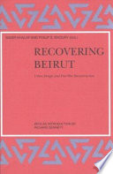 Recovering Beirut : center for international studies at mit on...