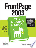 FrontPage 2003  The Missing Manual