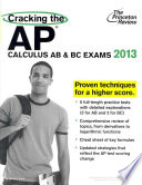 Cracking the AP Calculus AB   BC Exams 2013
