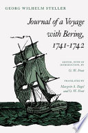 Journal Of A Voyage With Bering, 1741-1742 : 1743 manuscript that details the exploration of alaska....