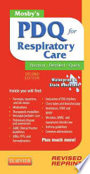 Mosby s PDQ for Respiratory Care   Revised Reprint2