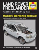 Land Rover Freelander Diesel Service And Repair Manual 2006 2014