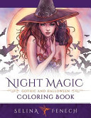 Night Magic   Gothic and Halloween Coloring Book