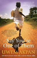 Say You Re One Of Them book