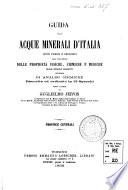 Guida alle acque minerali d Italia