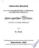 Beiträge zur Naturgeschichte Nordthüringens
