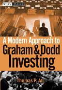 download ebook a modern approach to graham and dodd investing pdf epub