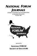 National Forum of Educational Administration and Supervision Journal