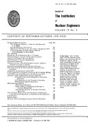 Journal of the Institution of Nuclear Engineers