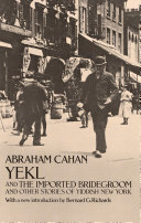 download ebook yekl and the imported bridegroom and other stories of the new york ghetto pdf epub