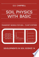 Soil Physics With Basic