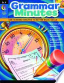 Grammar Minutes  Gr  4  eBook