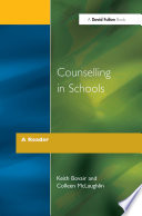 Counselling in Schools   A Reader