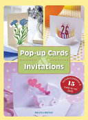 Pop up Cards and Invitations For Birthdays Holidays And Special Events