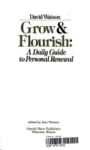 Grow and Flourish
