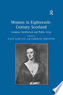 Women in Eighteenth Century Scotland
