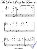 Star Spangled Banner Easy Piano Sheet Music