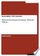 Moderne Kommunalverwaltung - Fallstudie Tilburg