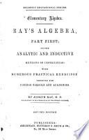 Ray's Algebra, Part First