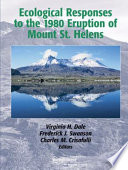 Ecological Responses to the 1980 Eruption of Mount St  Helens