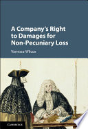 A Company s Right to Damages for Non Pecuniary Loss