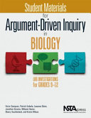 Student Lab Manual for Argument Driven Inquiry in Biology