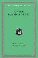 Greek Iambic Poetry
