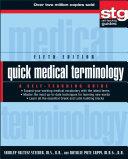 Quick Medical Terminology