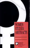 Women Studies Abstracts