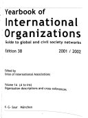 Yearbook of International Organizations 2001 2002