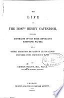 The Life Of The Hon Henry Cavendish