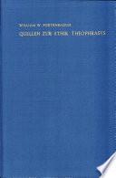 Quellen zur Ethik Theophrasts