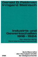 Industrie und Gewekschaften 1918-1924