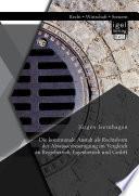 Die kommunale Anstalt als Rechtsform der Abwasserbeseitigung im Vergleich zu Regiebetrieb, Eigenbetrieb und GmbH