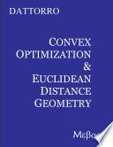 Convex Optimization & Euclidean Distance Geometry